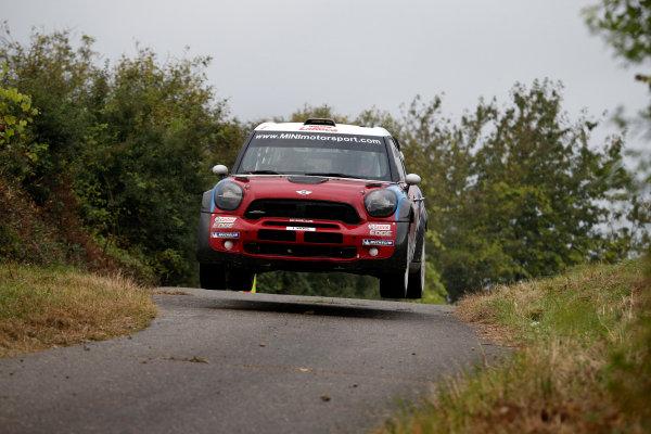 Round 09-Rallye Deutschland 23-26/8-2012.Dani Sordo, Mini WRC, Action.Worldwide Copyright: McKlein/LAT