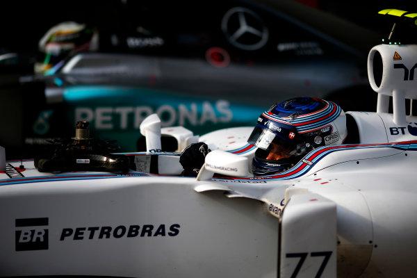Shanghai International Circuit, Shanghai, China. Saturday 11 April 2015. Valtteri Bottas, Williams F1. World Copyright: Andrew Hone/LAT Photographic. ref: Digital Image _ONZ1614