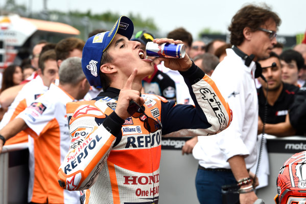 2017 MotoGP Championship - Round 10 Brno, Czech Republic Sunday 6 August 2017 Race winner Marc Marquez, Repsol Honda Team World Copyright: Gold and Goose / LAT Images ref: Digital Image 50570