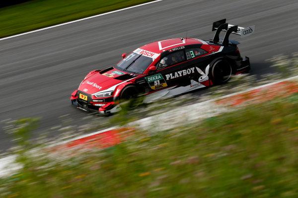 2017 DTM Round 8  Red Bull Ring, Spielberg, Austria  Sunday 24 September 2017. Nico Müller, Audi Sport Team Abt Sportsline, Audi RS 5 DTM  World Copyright: Alexander Trienitz/LAT Images ref: Digital Image 2017-DTM-RBR-AT2-1712