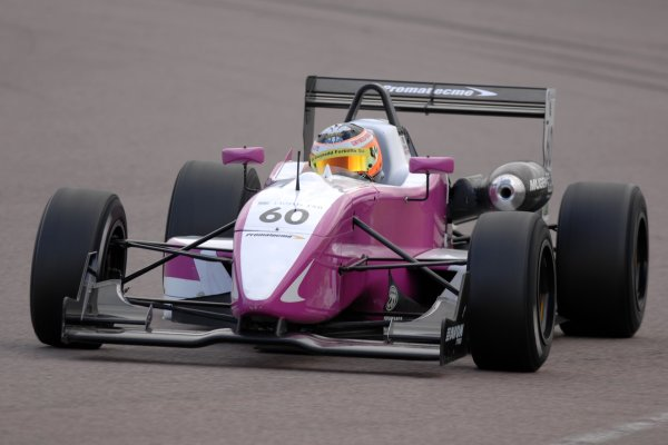 2007 British Formula Three Championship.Rockingham, England 29th and 30th September 2007.Richard Singleton (GBR) Promatecme Dallara HondaWorld Copyright: Jakob Ebrey/LAT