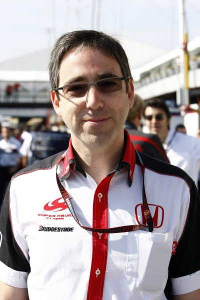 2007 Brazilian Grand Prix - Sinday RaceInterlagos, Sao Paulo, Brazil21st October 2007.Mark Preston, Technical Director, Super Aguri F1. Portrait. World Copyright: Glenn Dunbar/LAT Photographicref: Digital Image _O9T8771