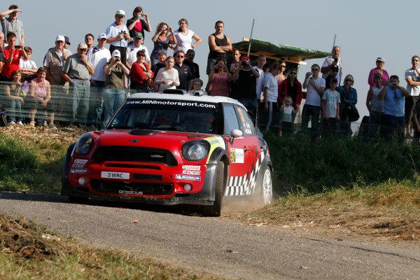 Round 11-Rallye de France. Dani Sordo, Mini WRC, Action.Worldwide Copyright: McKlein/LAT