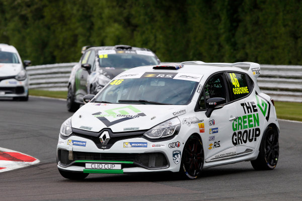 2017 Renault Clio Cup, Oulton Park, 20th-21st May 2017, Sam Osborne (GBR) Ciceley Motorsport Renault Clio Cup World copyright. JEP/LAT Images