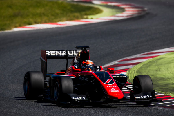 2016 GP3 Series Test 2. Circuit de Catalunya, Barcelona, Spain. Thursday 20 April 2017. Jack Aitken (GBR, ART Grand Prix)  Photo: Zak Mauger/GP3 Series Media Service. ref: Digital Image _56I5491