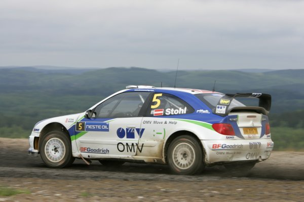 2007 FIA World Rally Champs. Round nineRally Finland.2nd-5th August 2007.Manfred Stohl, Citroen, action.World Copyright: McKlein/LAT