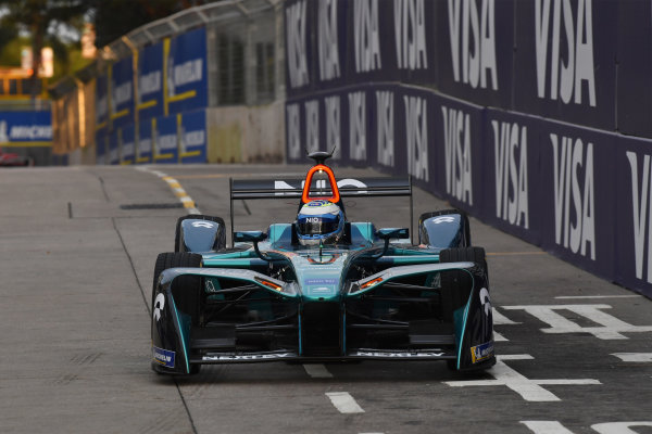 2017/2018 FIA Formula E Championship. Round 1 - Hong Kong, China. Saturday 02 December 2018. Luca Filippi (ITA), NIO Formula E Team, NextEV NIO Sport 003. Photo: Mark Sutton/LAT/Formula E ref: Digital Image DSC_8510