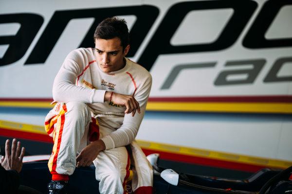 2016 GP3 Series Testing. Estoril, Portugal. Thursday 24 March 2016. Alex Palou (ESP) Campos Racing  World Copyright: Malcolm Griffiths/LAT Photographic. ref: Digital Image F80P4879
