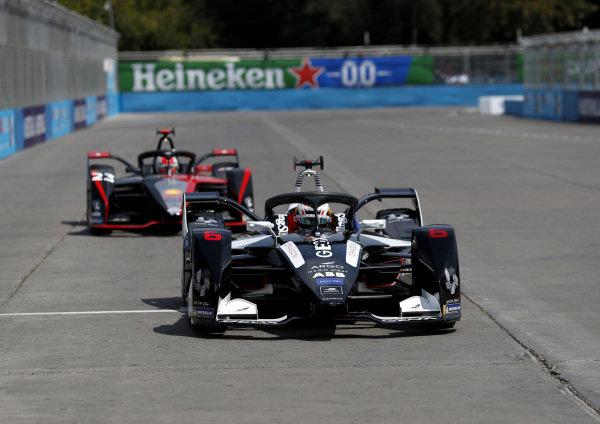 Brendon Hartley (NZL), GEOX Dragon, Penske EV-4 and Sébastien Buemi (CHE), Nissan e.Dams, Nissan IMO2
