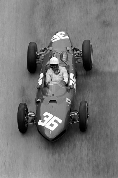 Phil Hill (USA) Ferrari 156 finished second. Monaco Grand Prix, Monte Carlo, 3 June 1962.
