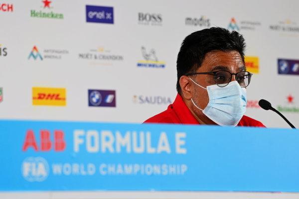 Dilbagh Gill, CEO and Team Principal, Mahindra Racing