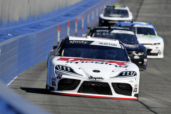 #20: Harrison Burton, Joe Gibbs Racing, Toyota Supra Dex Imaging