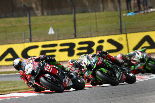 Toprak Razgatlioglu, Turkish Puccetti Racing, Jonathan Rea, Kawasaki Racing Team, Leon Haslam, Kawasaki Racing Team.