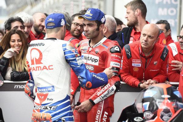 Jack Miller, Pramac Racing, Danilo Petrucci, Ducati Team.
