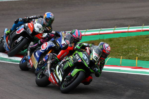 Leon Haslam, Kawasaki Racing Team, Alex Lowes, Pata Yamaha, Toprak Razgatlioglu, Turkish Puccetti Racing, World SBK.