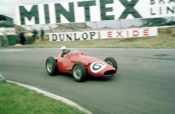 1957 British Grand Prix.Aintree, England.18-20 July 1957.Harry Schell (Maserati 250F).Ref-57 GB 01.World Copyright - LAT Photographic