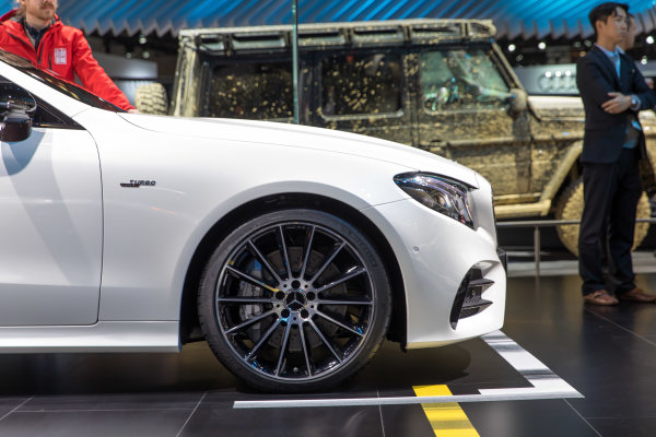 2019 Mercedes-AMG E53 Coupe debuts at the 2018 North American International Auto Show in Detroit.