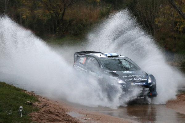 Mikko Hirvonen (FIN) / Jarmo Lehtinen (FIN), Ford Fiesta RS WRC. FIA World Rally Championship, Rd5, Rally Argentina, Preparations and Shakedown, Cordoba-Villa Carlos Paz, Argentina, 8 May 2014.