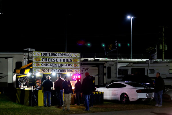 2017 Rolex 24 Hours. Daytona, Florida, USA Saturday 28 January 2017. Fans at the infield World Copyright: Alexander Trienitz/LAT Images ref: Digital Image 2017-24h-Daytona-AT1-4101