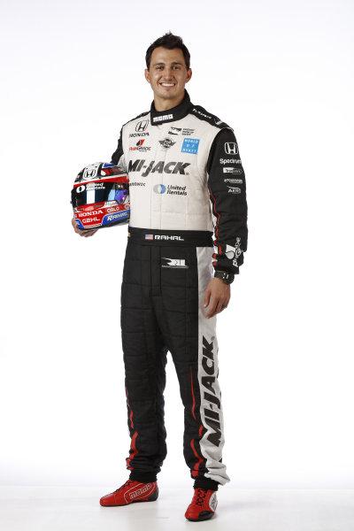 2017 IndyCar Media Day - Driver portrait Phoenix Raceway, Arizona, USA Thursday 9 February 2017 Graham Rahal World Copyright: Michael L. Levitt/LAT Images ref: Digital Image _AT_9669