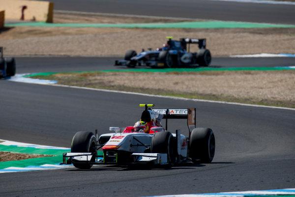 2017 FIA Formula 2 Round 10. Circuito de Jerez, Jerez, Spain. Sunday 8 October 2017. Alex Palou (JPN, Campos Racing).  Photo: Zak Mauger/FIA Formula 2. ref: Digital Image _56I7667