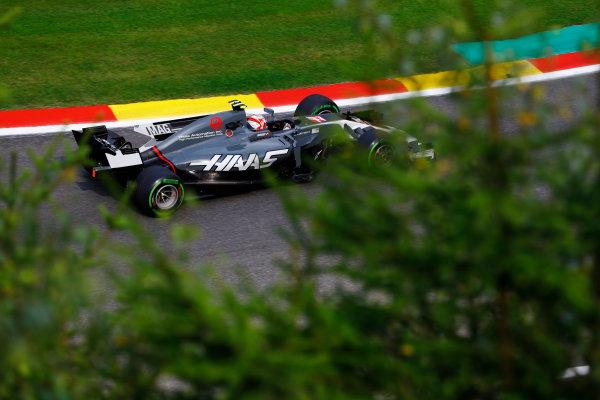 Spa Francorchamps, Belgium.  Saturday 26 August 2017. Kevin Magnussen, Haas VF-17 Ferrari.  World Copyright: Steven Tee/LAT Images  ref: Digital Image _O3I1526