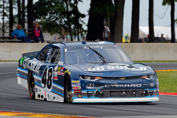 NASCAR XFINITY Series Johnsonville 180 Road America, Elkhart Lake, WI USA Sunday 27 August 2017 Brennan Poole, DC Solar Chevrolet Camaro World Copyright: Russell LaBounty LAT Images