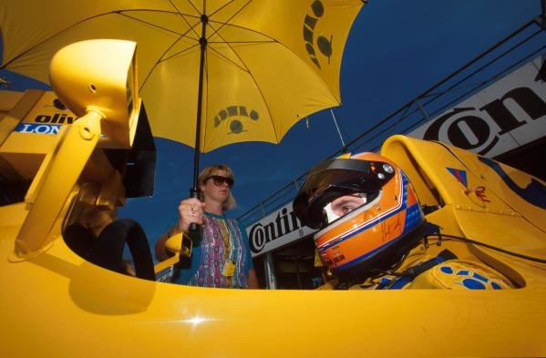 Martin Donnelly(GBR), Lotus 102, DNF German GP, Hockenheim, Germany, 29 July 1990
