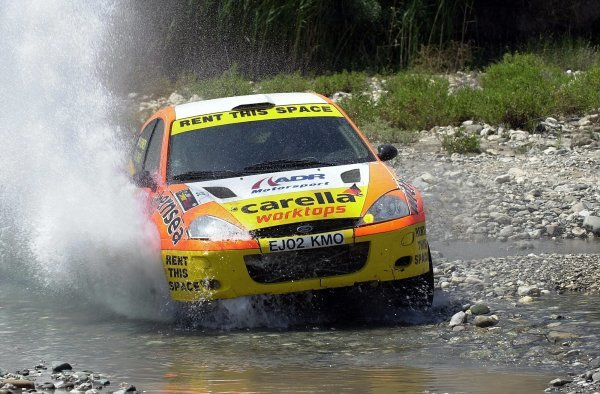 Alistair Ginley (GBR) Ford Focus RS WRC01 with co-driver Rory Kennedy (GBR) finished a superb eighth overall. 