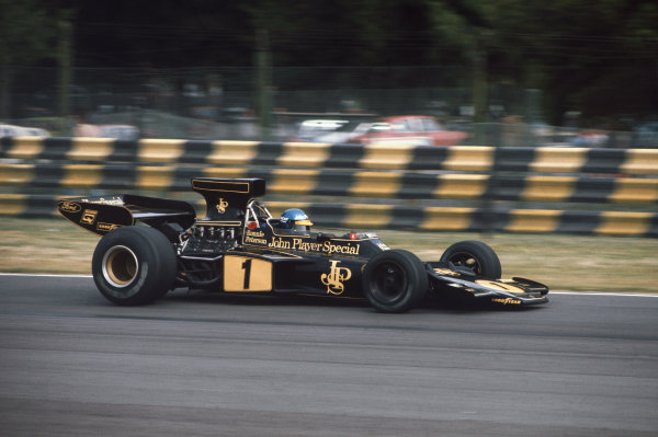 1974 Argentinian Grand Prix  Buenos Aires, Argentina. 11-13th January 1974.  Ronnie Peterson, Lotus 72E Ford, 13th position.  Ref: 74ARG01. World Copyright: LAT Photographic