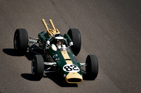 29 May, 2016, Indianapolis, Indiana, USA Dario Franchitti driving Colin Chapman designed 1965 Lotus 38. The first mid-engined car to win the Indianapolis 500 driven to victory by Jim Clark ?2016, Scott R LePage  LAT Photo USA