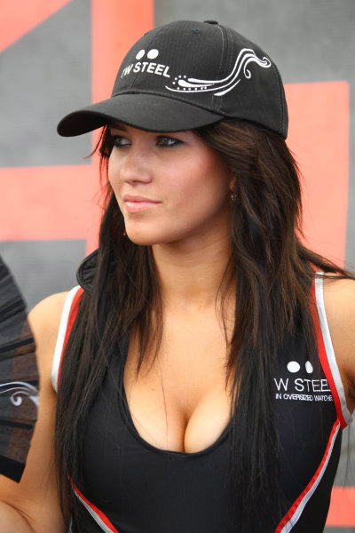 25.01 2009 Taupo, New Zealand, TW Steel Grid Girls  - A1GP World Cup of Motorsport 2008/09, Round 4, Taupo - A1GP - Free for editorial usage - Copyright A1GP - Free for editorial usage