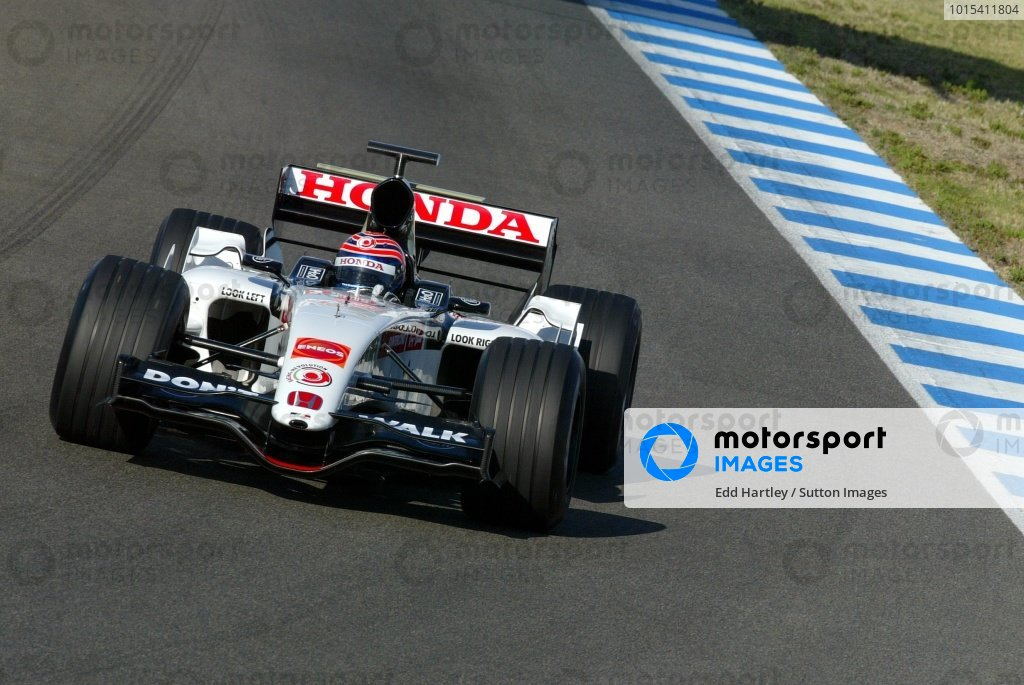 Tony Kanaan (BRA) BAR Honda 007.