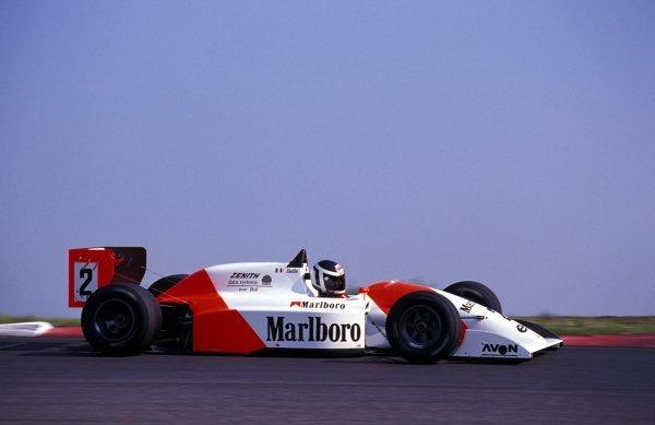 Laurent Aiello (FRA) DAMS Lola-Mugen T91/50.International F3000 Championship, Rd1, Vallelunga, Italy, 14 April 1991.