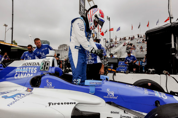 Verizon IndyCar Series Honda Indy Toronto Toronto, ON CAN Friday 14 July 2017 Charlie Kimball, Chip Ganassi Racing Teams Honda World Copyright: Phillip Abbott LAT Images ref: Digital Image abbott_toronto_0717_0056