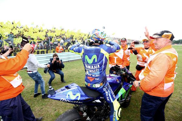 2017 MotoGP Championship - Round 8 Assen, Netherlands Sunday 25 June 2017 Race winner Valentino Rossi, Yamaha Factory Racing World Copyright: David Goldman/LAT Images ref: Digital Image 680160