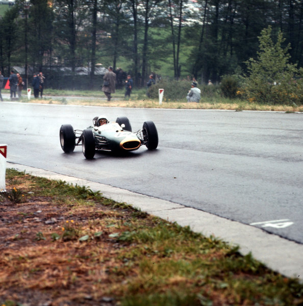 Spa-Francorchamps, Belgium.11-13 June 1965.Jack Brabham (Brabham BT11 Climax) 4th position.Ref-3/1697.World Copyright - LAT Photographic