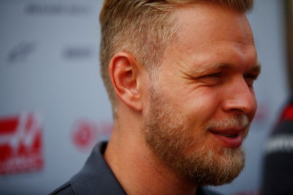 Spa Francorchamps, Belgium.  Thursday 24 August 2017. Kevin Magnussen, Haas F1.  World Copyright: Andy Hone/LAT Images  ref: Digital Image _ONY3126