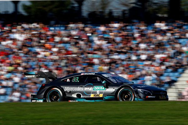 2017 DTM Round 9  Hockenheimring, Germany  Sunday 15 October 2017. Robert Wickens, Mercedes-AMG Team HWA, Mercedes-AMG C63 DTM  World Copyright: Alexander Trienitz/LAT Images ref: Digital Image 2017-DTM-HH2-AT3-2427