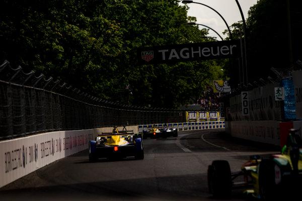 2015/2016 FIA Formula E Championship. Berlin ePrix, Berlin, Germany. Saturday 21 May 2016. Nicolas Prost (FRA), Renault e.Dams Z.E.15  Photo: Zak Mauger/LAT/Formula E ref: Digital Image _L0U2179