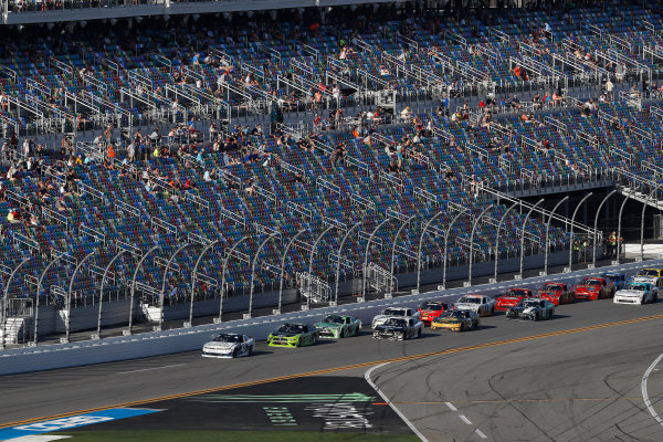 NASCAR Xfinity Series PowerShares QQQ 300 Daytona International Speedway, Daytona Beach, FL USA Saturday 17 February 2018 Kyle Larson, Chip Ganassi Racing, DC Solar Chevrolet Camaro World Copyright: Michael L. Levitt LAT Images