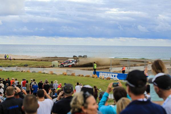 2017 FIA World Rally Championship, Round 13, Rally Australia 2017, 16-19 November 2017, Jari-Matti Latvala, Citroen, action, Worldwide Copyright: LAT/McKlein