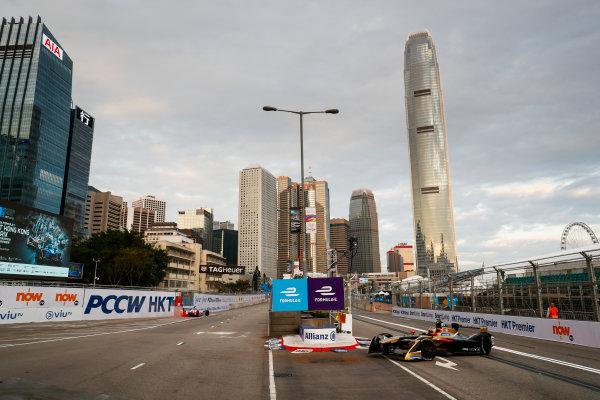 2017/2018 FIA Formula E Championship. Round 1 - Hong Kong, China. Saturday 02 December 2017. Jean Eric Vergne (FRA), TECHEETAH, Renault Z.E. 17. Photo: Sam Bloxham/LAT/Formula E ref: Digital Image _J6I3805