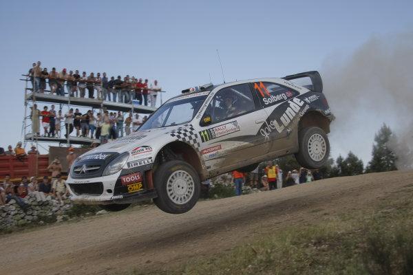 Round 6Rally d'Italia Sardinia 200921st - 24th  May 2009Petter Solberg, Citroen, WRC, ActionWorldwide Copyright: McKlein/LAT