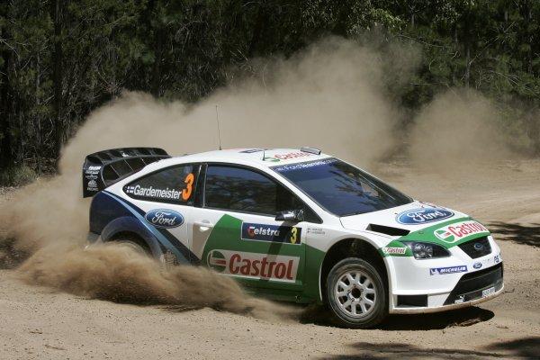 2005 FIA World Rally Champs. Round Sixteen, Rally Australia.10th - 13th November 2005.Toni Gardemeister, Ford, action.World Copyright: McKlein/LAT
