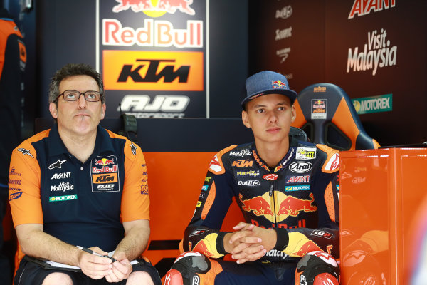 2017 Moto3 Championship - Round 4 Jerez, Spain Friday 5 May 2017 Bo Bendsneyder, Red Bull KTM Ajo World Copyright: Gold & Goose Photography/LAT Images ref: Digital Image 667764