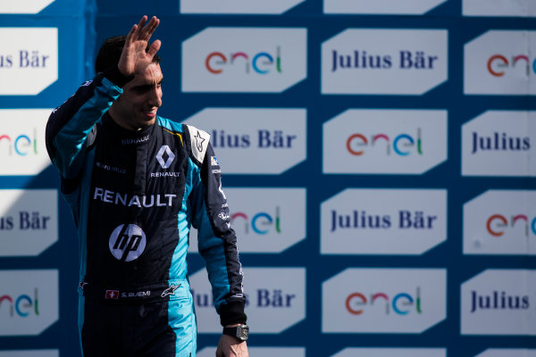 2016/2017 FIA Formula E Championship. Buenos Aires ePrix, Buenos Aires, Argentina. Saturday 18 February 2017. Sebastien Buemi (SUI), Renault e.Dams, Spark-Renault, Renault Z.E 16.  Photo: Sam Bloxham/LAT/Formula E ref: Digital Image _SLA8639