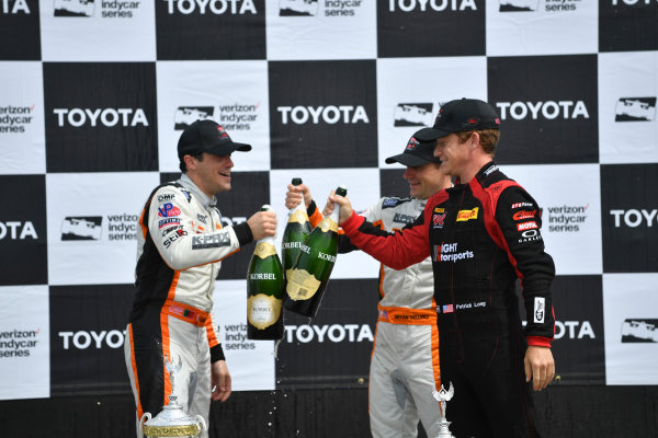 2017 Pirelli World Challenge Toyota Grand Prix of Long Beach Streets of Long Beach, CA USA Sunday 9 April 2017 Alvaro Parente, Bryan Sellers, Patrick Long World Copyright: Richard Dole/LAT Images ref: Digital Image RD_LB17_495