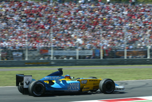 2003 Italian Grand Prix - Sunday Race,