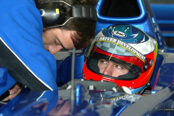 2004 F3000 Testing.J-M Lopez, Cloni MotorsportJerez, Spain.17-18th February 2004.Wolrd Copyright: Spinney/LAT Photographic.Ref.: Digital Image Only.